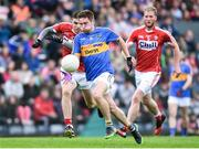 10 June 2017; Bill Maher of Tipperary in action against Luke Connolly and Ruairi Deane of Cork during the Munster GAA Football Senior Championship Semi-Final match between Cork and Tipperary at Pairc Ui Rinn in Cork. Photo by Matt Browne/Sportsfile