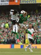 11 June 2017; James McClean of Republic of Ireland in action against David Alaba of Austria during the FIFA World Cup Qualifier Group D match between Republic of Ireland and Austria at Aviva Stadium, in Dublin. Photo by David Maher/Sportsfile
