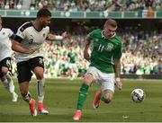 11 June 2017; James McClean of Republic of Ireland in action against Aleksandar Dragovic of Austria during the FIFA World Cup Qualifier Group D match between Republic of Ireland and Austria at Aviva Stadium, in Dublin. Photo by David Maher/Sportsfile