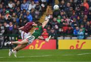 11 June 2017; Michael Daly of Galway in action against Lee Keegan of Mayo during the Connacht GAA Football Senior Championship Semi-Final match between Galway and Mayo at Pearse Stadium, in Salthill, Galway. Photo by Ray McManus/Sportsfile