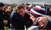 11 June 2017; Galway captain Gary O'Donnell celebrates after the Connacht GAA Football Senior Championship Semi-Final match between Galway and Mayo at Pearse Stadium, in Salthill, Galway. Photo by Daire Brennan/Sportsfile