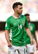 11 June 2017; Wes Hoolahan of Republic of Ireland during the FIFA World Cup Qualifier Group D match between Republic of Ireland and Austria at Aviva Stadium, in Dublin.  Photo by Seb Daly/Sportsfile