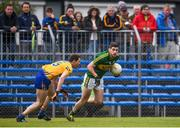 11 June 2017; Paul Geaney of Kerry in action against Kevin Harnett of Clare during the Munster GAA Football Senior Championship Semi-Final match between Kerry and Clare at Cusack Park, in Ennis, Co. Clare. Photo by Sam Barnes/Sportsfile