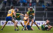 11 June 2017; Donnchadh Walsh of Kerry in action against Gary Brennan of Clare during the Munster GAA Football Senior Championship Semi-Final match between Kerry and Clare at Cusack Park, in Ennis, Co. Clare. Photo by Sam Barnes/Sportsfile