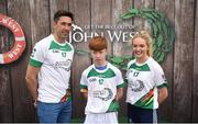 12 June 2017; Liam McCormack from Durlas Og, Co Tipperary, pictured with Donegal's Rory Kavanagh and Monaghan's Eimear McAnespie after participating in the boys football competition at the John West Skills Day in the National Sports Campus on Saturday 10th June. The Skills Day is an opportunity for Ireland's rising football, hurling & camogie stars to show their skills ahead of the John West Féile na nÓg and John West Féile na nGael competitions. At Abbottstown in Dublin. Photo by Cody Glenn/Sportsfile