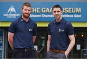 13 June 2017; All-Ireland winning stars Richie Power, left, of Kilkenny, and Marc Ó Sé of Kerry were at GAA Headquarters today for the launch of this year's Bord Gáis Energy Legends Tour Series. The duo are among an array of GAA greats who will host tours of Croke Park as part of the 2017 Legends Tour series, an event that offers GAA fans a unique chance to experience the stadium from a player's perspective. Croke Park, Dublin. Photo by Seb Daly/Sportsfile