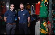 13 June 2017; All-Ireland winning stars Marc Ó Sé, left, of Kerry, and Richie Power of Kilkenny were at GAA Headquarters today for the launch of this year's Bord Gáis Energy Legends Tour Series. The duo are among an array of GAA greats who will host tours of Croke Park as part of the 2017 Legends Tour series, an event that offers GAA fans a unique chance to experience the stadium from a player's perspective. Croke Park, Dublin. Photo by Seb Daly/Sportsfile