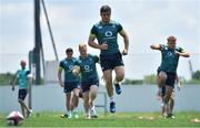 15 June 2017; Luke McGrath of Ireland during an Ireland rugby squad training session in Tokyo, Japan. Photo by Brendan Moran/Sportsfile