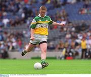 23 June 2002; Alan Mulhall, Offaly. Picture credit; Brian Lawless / SPORTSFILE