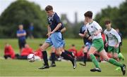 16 June 2017; Andy Margine of North Dublin Schoolboys League in action against Limerick Desmond during the SFAI Umbro Kennedy Cup Playe Final match between Limerick Desmond and North Dublin Schoolboys League at the University of Limerick in Limerick. Photo by Matt Browne/Sportsfile