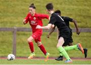 16 June 2017; Roman Gaspar of Cork in action against Galway during the SFAI Umbro Kennedy Cup Final third and fouthh playoff match between Cork and Galway at the University of Limerick in Limerick. Photo by Matt Browne/Sportsfile *** NO REPRODUCTION FEE ***