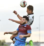 16 June 2017; Dane Massey of Dundalk in action against Adam Wixted of Drogheda United during the SSE Airtricity League Premier Division match between Drogheda United and Dundalk at United Park in Drogheda, Co. Louth. Photo by David Maher/Sportsfile