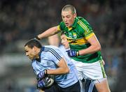 4 February 2012; Craig Dias, Dublin, in action against Kieran Donaghy, Kerry. Allianz Football League, Division 1, Round 1, Dublin v Kerry, Croke Park, Dublin. Picture credit: Stephen McCarthy / SPORTSFILE