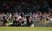 17 June 2017; Offaly manager Pat Flanagan during the Leinster GAA Football Senior Championship Quarter-Final Replay match between Westmeath and Offaly at TEG Cusack Park in Mullingar, Co Westmeath. Photo by Piaras Ó Mídheach/Sportsfile