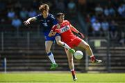 17 June 2017; Aidan Trihy of Waterford in action against Danny Tallon of Derry during the GAA Football All-Ireland Senior Championship Round 1A match between Waterford and Derry at Fraher Field in Dungarvan, Co Waterford. Photo by Eóin Noonan/Sportsfile