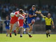 17 June 2017; Paul Whyte of Waterford in action against James Kielt of Derry during the GAA Football All-Ireland Senior Championship Round 1A match between Waterford and Derry at Fraher Field in Dungarvan, Co Waterford. Photo by Eóin Noonan/Sportsfile