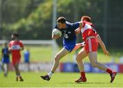 17 June 2017; Michael Curry of Waterford in action against Conor McAtamney of Derry during the GAA Football All-Ireland Senior Championship Round 1A match between Waterford and Derry at Fraher Field in Dungarvan, Co Waterford. Photo by Eóin Noonan/Sportsfile
