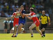 17 June 2017; Paul Whyte of Waterford in action against Michael McEvoy of Derry during the GAA Football All-Ireland Senior Championship Round 1A match between Waterford and Derry at Fraher Field in Dungarvan, Co Waterford. Photo by Eóin Noonan/Sportsfile