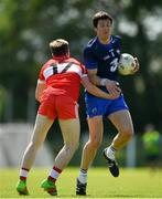 17 June 2017; Tom Prendergast of Waterford in action against Jason Curry of Derry during the GAA Football All-Ireland Senior Championship Round 1A match between Waterford and Derry at Fraher Field in Dungarvan, Co Waterford. Photo by Eóin Noonan/Sportsfile
