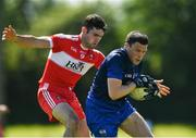 17 June 2017; Stephen Prendergast of Waterford in action against Danny Heavron of Derry during the GAA Football All-Ireland Senior Championship Round 1A match between Waterford and Derry at Fraher Field in Dungarvan, Co Waterford. Photo by Eóin Noonan/Sportsfile
