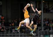 17 June 2017; Conor Murray of Antrim in action against Charlie Harrison of Sligo during the GAA Football All-Ireland Senior Championship Round 1A match between Sligo and Antrim at Markievicz Park in Sligo. Photo by Seb Daly/Sportsfile