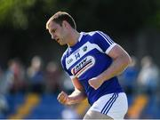 17 June 2017; Gary Walsh of Laois celebrates after scoring his side's second goal during the GAA Football All-Ireland Senior Championship Round 1A match between Wicklow and Laois at Joule Park in Aughrim, Co Wicklow. Photo by Ray McManus/Sportsfile