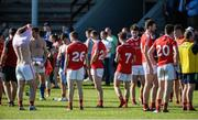 17 June 2017; Louth players after the GAA Football All-Ireland Senior Championship Round 1A match between Louth and Longford at the Gaelic Grounds in Drogheda, Co Louth. Photo by Oliver McVeigh/Sportsfile