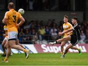 17 June 2017; Paddy O'Connor of Sligo kicks a point during the GAA Football All-Ireland Senior Championship Round 1A match between Sligo and Antrim at Markievicz Park in Sligo. Photo by Seb Daly/Sportsfile