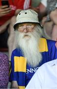 17 June 2017; A Longford fan during the GAA Football All-Ireland Senior Championship Round 1A match between Louth and Longford at the Gaelic Grounds in Drogheda, Co Louth. Photo by Oliver McVeigh/Sportsfile