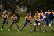 18 June 2017; Chiefs players during a training session in Hamilton, New Zealand. Photo by Stephen McCarthy/Sportsfile