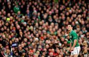 5 February 2012; Jonathan Sexton, Ireland. RBS Six Nations Rugby Championship, Ireland v Wales, Aviva Stadium, Lansdowne Road, Dublin. Picture credit: Stephen McCarthy / SPORTSFILE