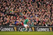 5 February 2012; Rob Kearney, Ireland. RBS Six Nations Rugby Championship, Ireland v Wales, Aviva Stadium, Lansdowne Road, Dublin. Picture credit: Stephen McCarthy / SPORTSFILE