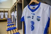 18 June 2017; A general view of the jersey of Shane Bennett of Waterford in the dressing room before the Munster GAA Hurling Senior Championship Semi-Final match between Waterford and Cork at Semple Stadium in Thurles, Co Tipperary.  Photo by Piaras Ó Mídheach/Sportsfile