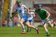 18 June 2017; Cormac Curran of Waterford in action against Jack Cagney of Limerick during the Munster GAA Under 25 Reserve Hurling Competition Final match between Limerick and Waterford at Semple Stadium in Thurles, Co. Tipperary. Photo by Piaras Ó Mídheach/Sportsfile