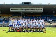 18 June 2017; The Waterford squad before the Munster GAA Under 25 Reserve Hurling Competition Final match between Limerick and Waterford at Semple Stadium in Thurles, Co. Tipperary. Photo by Piaras Ó Mídheach/Sportsfile