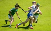 18 June 2017; Cormac Curran of Waterford in action against Jack O'Grady, left, and Lorcan Lyons of Limerick during the Munster GAA Under 25 Reserve Hurling Competition Final match between Limerick and Waterford at Semple Stadium in Thurles, Co. Tipperary. Photo by Piaras Ó Mídheach/Sportsfile