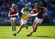 18 June 2017; Niall Burke of Galway in action against David King of Offaly during the Leinster GAA Hurling Senior Championship Semi-Final match between Galway and Offaly at O'Moore Park in Portlaoise, Co Laois. Photo by Seb Daly/Sportsfile
