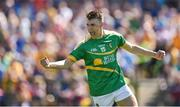 18 June 2017; Darragh Rooney of Leitrim celebrates after scoring his side's first goal during the Connacht GAA Football Senior Championship Semi-Final match between Roscommon and Leitrim at Dr Hyde Park in Roscommon. Photo by David Maher/Sportsfile