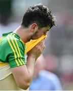 18 June 2017; Donegal's Ryan McHugh following his side's defeat in the Ulster GAA Football Senior Championship Semi-Final match between Tyrone and Donegal at St Tiernach's Park in Clones, Co. Monaghan. Photo by Ramsey Cardy/Sportsfile