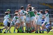 18 June 2017; Kanturk GAA, Club, Co. Cork celebrate after the Division 6 Final at the John West Féile na nGael national competition which took place this weekend across Carlow, Kilkenny and Waterford. This is the second year that the Féile na nGael and Féile Peile na nÓg have been sponsored by John West, one of the world's leading suppliers of fish. The competition gives up-and-coming GAA superstars the chance to participate and play in their respective Féile tournament, at a level which suits their age, skills and strengths. Photo by Matt Browne/Sportsfile