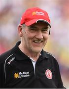 18 June 2017; Tyrone manager Mickey Harte after the Ulster GAA Football Senior Championship Semi-Final match between Tyrone and Donegal at St Tiernach's Park in Clones, Co. Monaghan. Photo by Oliver McVeigh/Sportsfile