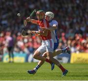 18 June 2017; Stephen McDonnell of Cork in action against Shane Bennett of Waterford during the Munster GAA Hurling Senior Championship Semi-Final match between Waterford and Cork at Semple Stadium in Thurles, Co Tipperary.  Photo by Ray McManus/Sportsfile