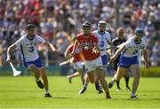 18 June 2017; Mark Ellis of Cork in action against Maurice Shanahan, left, and Michael Walsh of Waterford during the Munster GAA Hurling Senior Championship Semi-Final match between Waterford and Cork at Semple Stadium in Thurles, Co Tipperary.  Photo by Ray McManus/Sportsfile