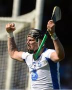 18 June 2017; Maurice Shanahan of Waterford celebrates scoring his side's first goal during the Munster GAA Hurling Senior Championship Semi-Final match between Waterford and Cork at Semple Stadium in Thurles, Co Tipperary.  Photo by Piaras Ó Mídheach/Sportsfile
