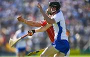 18 June 2017; Alan Cadogan of Cork in action against Conor Gleeson of Waterford during the Munster GAA Hurling Senior Championship Semi-Final match between Waterford and Cork at Semple Stadium in Thurles, Co Tipperary.  Photo by Ray McManus/Sportsfile