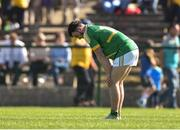18 June 2017; A disapointed Conor Gaffney of Leitrim at the end of the Connacht GAA Football Senior Championship Semi-Final match between Roscommon and Leitrim at Dr Hyde Park in Roscommon. Photo by David Maher/Sportsfile