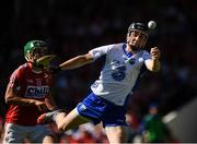 18 June 2017; Conor Gleeson of Waterford in action against Alan Cadogan of Cork during the Munster GAA Hurling Senior Championship Semi-Final match between Waterford and Cork at Semple Stadium in Thurles, Co Tipperary.  Photo by Ray McManus/Sportsfile