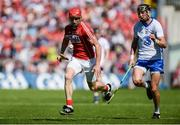 18 June 2017; Bill Cooper of Cork gets past Maurice Shanahan of Waterford during the Munster GAA Hurling Senior Championship Semi-Final match between Waterford and Cork at Semple Stadium in Thurles, Co Tipperary.  Photo by Piaras Ó Mídheach/Sportsfile