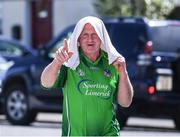 18 June 2017; Limerick supporter Pat Cagney, from Ballingarry, on his way to the Munster GAA Under 25 Reserve Hurling Competition Final match between Limerick and Waterford at Semple Stadium in Thurles, Co. Tipperary. Photo by Ray McManus/Sportsfile