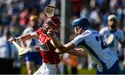 18 June 2017; Daniel Kearney of Cork in action against Patrick Curran of Waterford during the Munster GAA Hurling Senior Championship Semi-Final match between Waterford and Cork at Semple Stadium in Thurles, Co Tipperary.  Photo by Piaras Ó Mídheach/Sportsfile